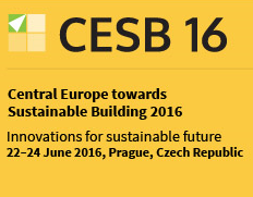 Central Europe towards Sustainable Building Prague 2016