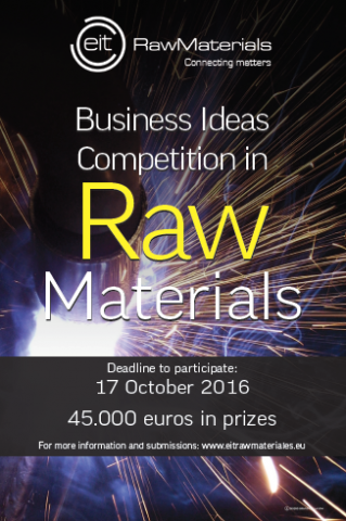 Business Plan Ideas Competition for Innovation in Raw Materials