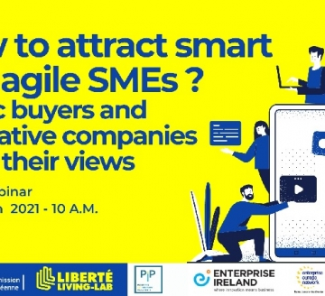 Webinář How to Attract Agile & SMART SMEs?